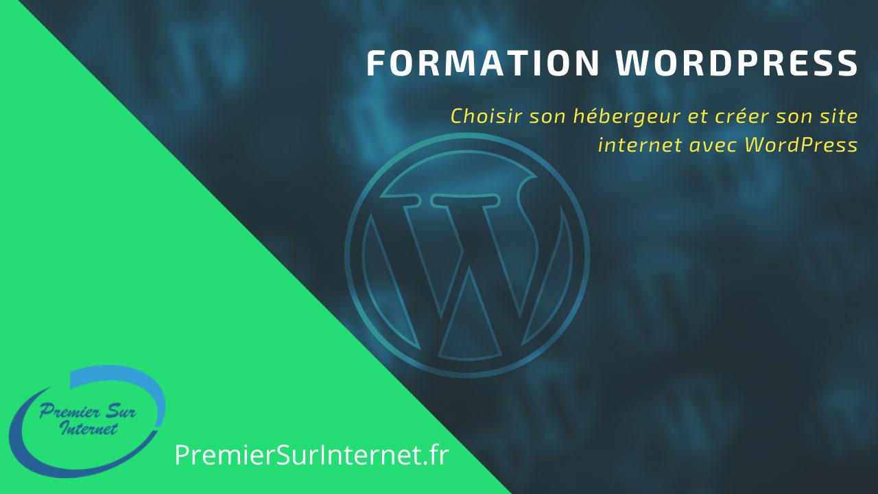 Formation WordPress chez l'hébergeur O2Switch